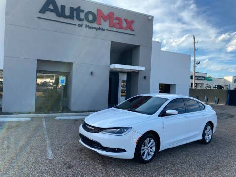 2015 Chrysler 200 for sale at AutoMax of Memphis - Nate Palmer in Memphis TN