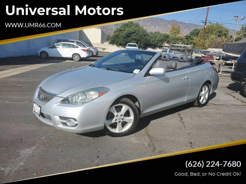 2007 Toyota Camry Solara for sale at Universal Motors in Glendora CA
