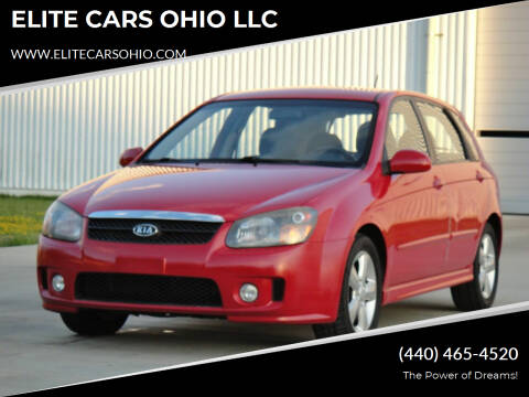 2008 Kia Spectra for sale at ELITE CARS OHIO LLC in Solon OH