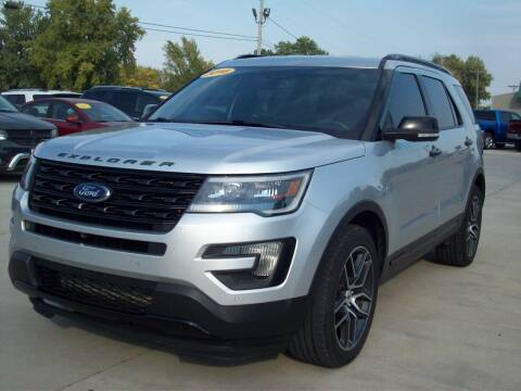 2016 Ford Explorer for sale at Nemaha Valley Motors in Seneca KS