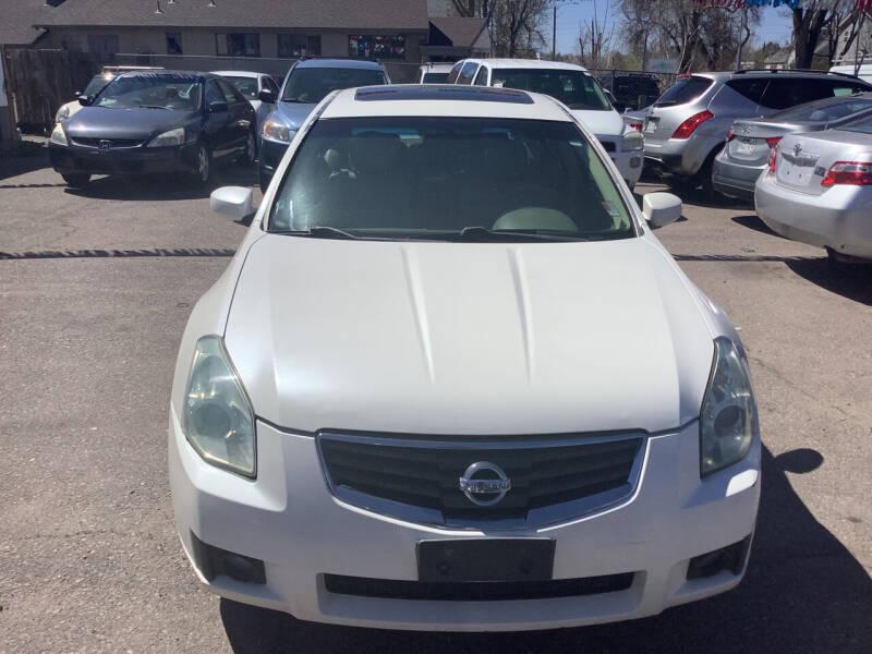 2007 Nissan Maxima for sale at GPS Motors in Denver CO