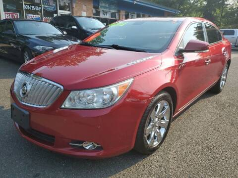 2012 Buick LaCrosse for sale at CENTRAL AUTO GROUP in Raritan NJ