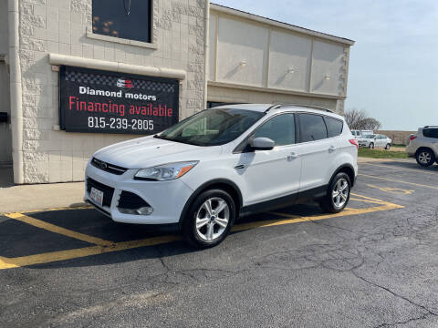 2016 Ford Escape for sale at Diamond Motors in Pecatonica IL