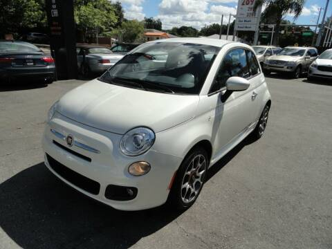2015 FIAT 500 for sale at DeWitt Motor Sales in Sarasota FL