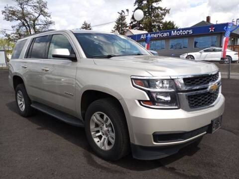 2017 Chevrolet Tahoe for sale at All American Motors in Tacoma WA