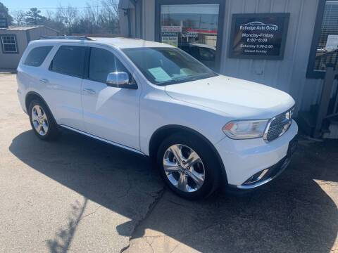 2014 Dodge Durango for sale at Rutledge Auto Group in Palestine TX