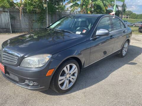 2008 Mercedes-Benz C-Class for sale at FAIR DEAL AUTO SALES INC in Houston TX