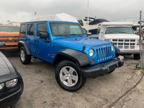 2010 Jeep Wrangler Unlimited for sale at Quality Motors Truck Center in Miami FL