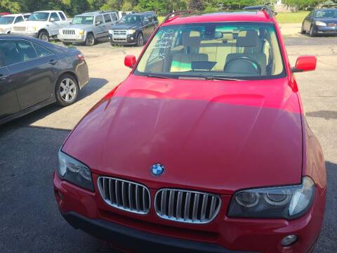 2007 BMW X3 for sale at All State Auto Sales, INC in Kentwood MI