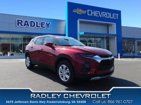 2021 Chevrolet Blazer for sale at Radley Cadillac in Fredericksburg VA
