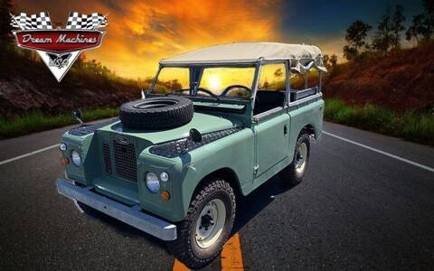 1969 Land Rover 88 Series for sale at Dream Machines USA in Lantana FL