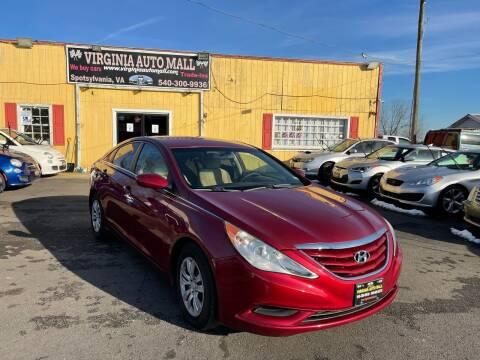 2011 Hyundai Sonata for sale at Virginia Auto Mall in Woodford VA