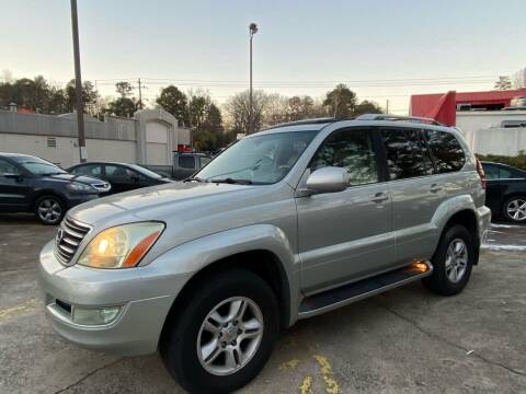 2004 Lexus GX 470 for sale at Car Online in Roswell GA