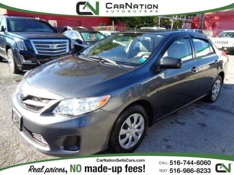 2011 Toyota Corolla for sale at CarNation AUTOBUYERS, Inc. in Rockville Centre NY