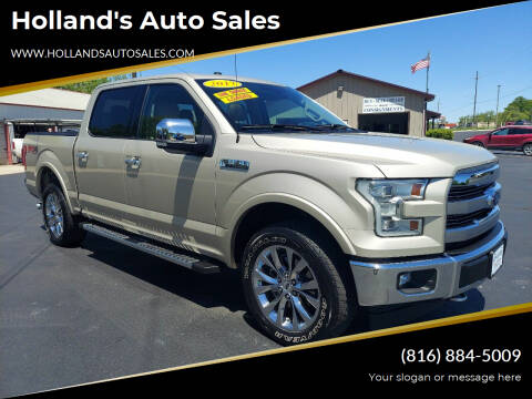 2017 Ford F-150 for sale at Holland's Auto Sales in Harrisonville MO