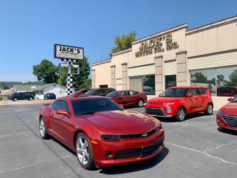2014 Chevrolet Camaro for sale at JACK'S MOTOR COMPANY in Van Buren AR