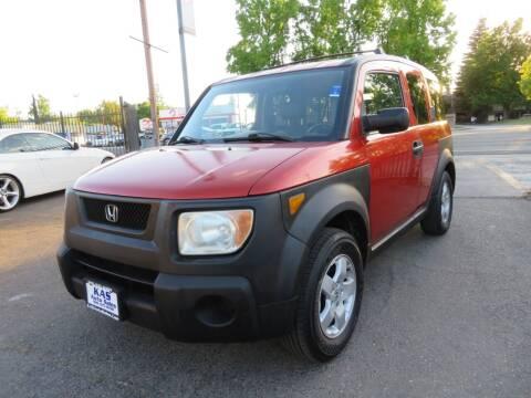 2004 Honda Element for sale at KAS Auto Sales in Sacramento CA