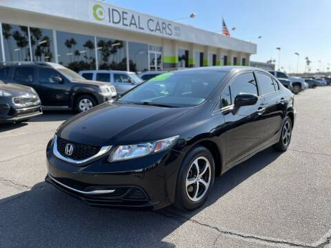 2015 Honda Civic for sale at Ideal Cars Atlas in Mesa AZ