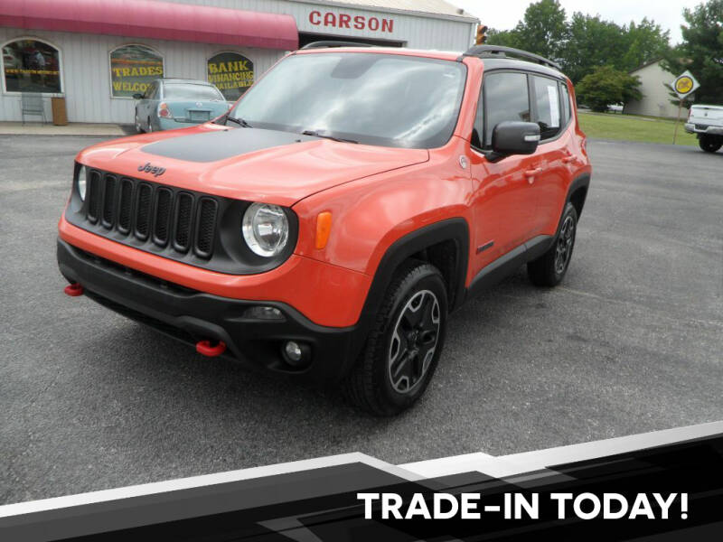 2016 Jeep Renegade for sale at CARSON MOTORS in Cloverdale IN
