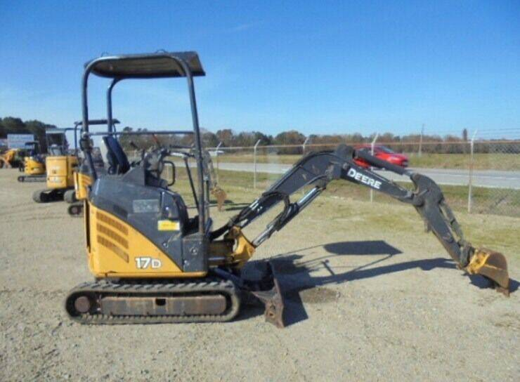 2014 John Deere 17D Mini Excavator for sale at Vehicle Network - Dick Smith Equipment in Goldsboro NC