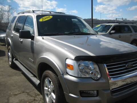 2008 Ford Explorer for sale at B. Fields Motors, INC in Pittsburgh PA