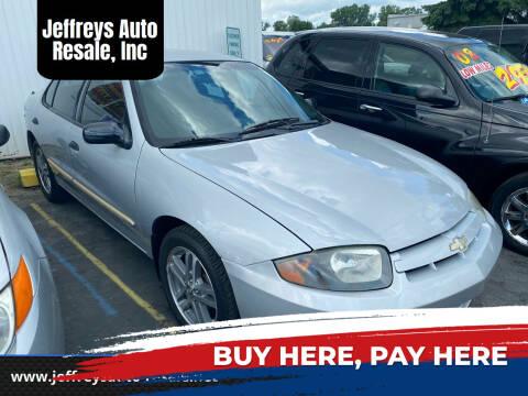 2004 Chevrolet Cavalier for sale at Jeffreys Auto Resale, Inc in Clinton Township MI