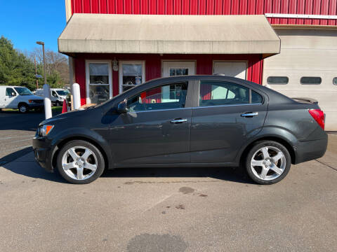 2015 Chevrolet Sonic for sale at JWP Auto Sales,LLC in Maple Shade NJ