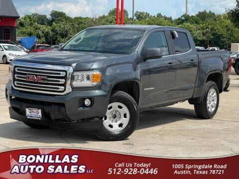 2015 GMC Canyon for sale at Bonillas Auto Sales in Austin TX