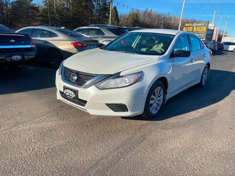 2016 Nissan Altima for sale at Affordable Auto Sales in Webster WI