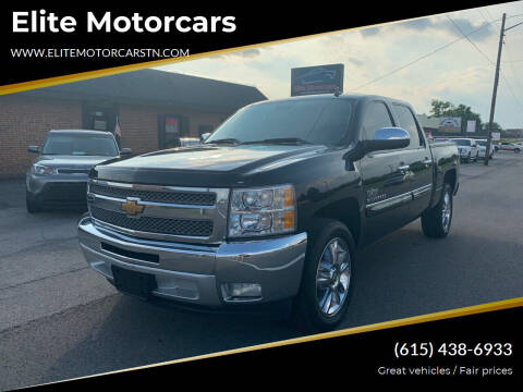 2012 Chevrolet Silverado 1500 for sale at Elite Motorcars in Smyrna TN