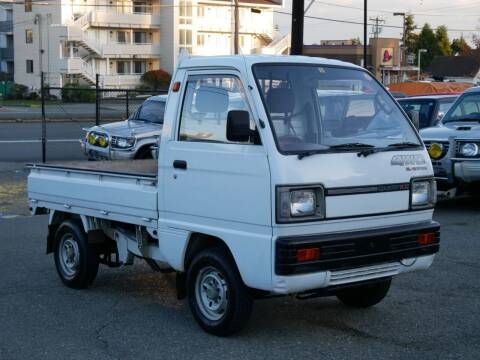 1989 Suzuki Carry  4x4 MT5 Supercharger for sale at JDM Car & Motorcycle LLC in Seattle WA