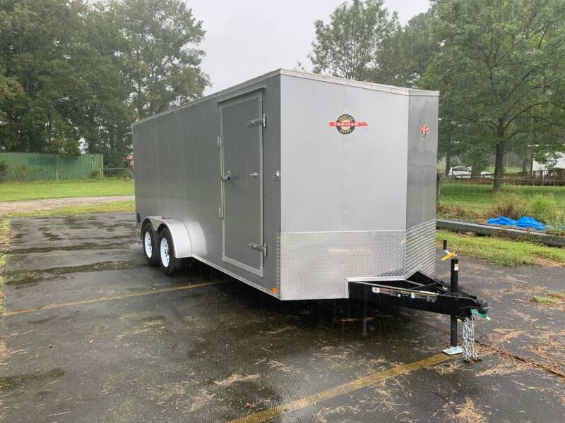 2021 New Carry-On 7x18 CGR Enclosed for sale at Tripp Auto & Cycle Sales Inc in Grimesland NC