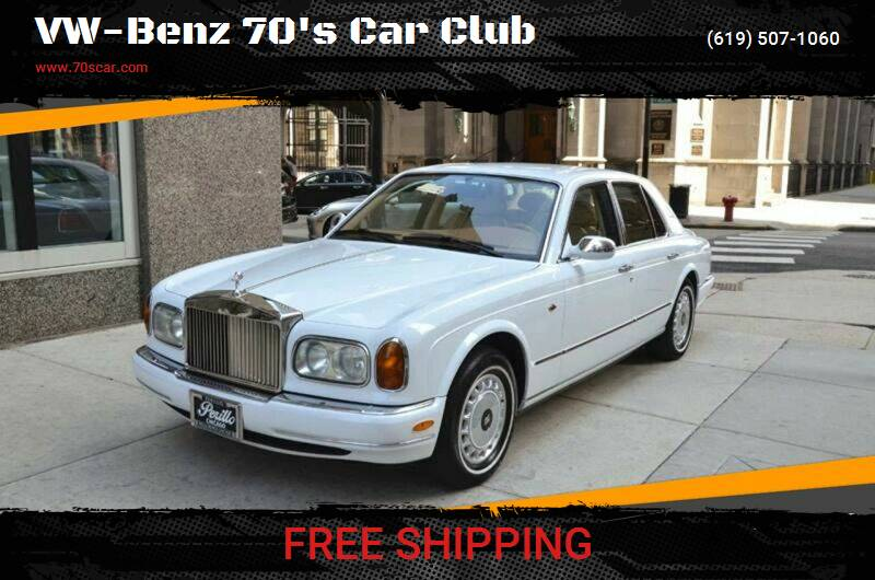 1999 Rolls-Royce Silver Seraph for sale at OnLine VW-BENZ.COM Auto Group in Riverside CA