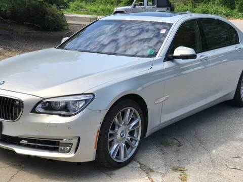 2013 BMW 7 Series for sale at AMK Auto Brokers in Derry NH