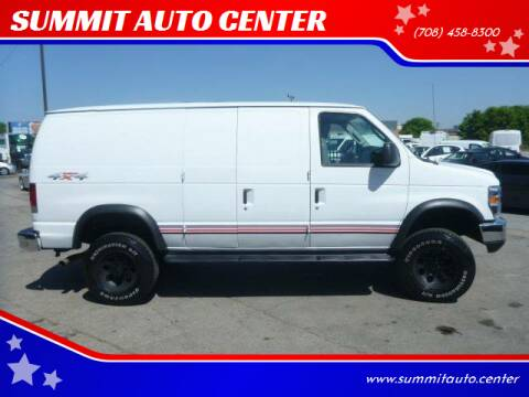 2012 Ford E-Series Cargo for sale at SUMMIT AUTO CENTER in Summit IL