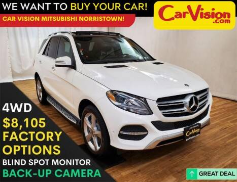 2017 Mercedes-Benz GLE for sale at Car Vision Mitsubishi Norristown in Trooper PA