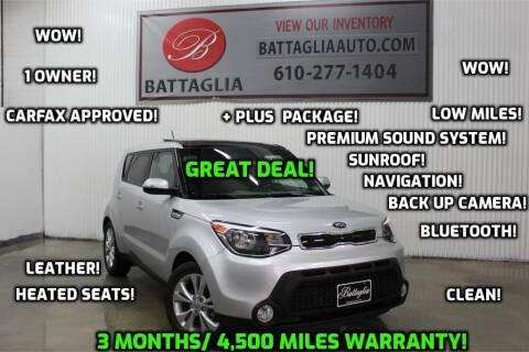 2014 Kia Soul for sale at Battaglia Auto Sales in Plymouth Meeting PA