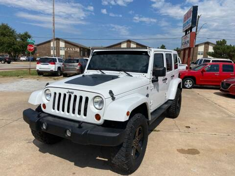 2012 Jeep Wrangler Unlimited for sale at Car Gallery in Oklahoma City OK
