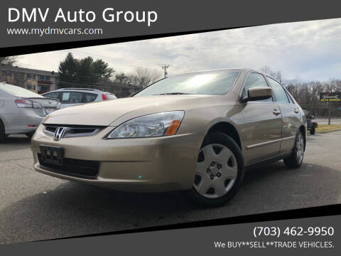 2005 Honda Accord for sale at DMV Auto Group in Falls Church VA