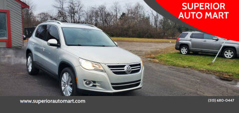 2011 Volkswagen Tiguan for sale at SUPERIOR AUTO MART in Amelia OH