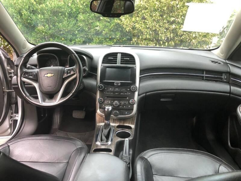 2015 Chevrolet Malibu LTZ 4dr Sedan w/1LZ - Fallbrook CA