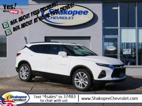 2021 Chevrolet Blazer for sale at SHAKOPEE CHEVROLET in Shakopee MN