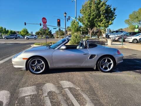 2004 Porsche Boxster for sale at Coast Auto Sales in Buellton CA