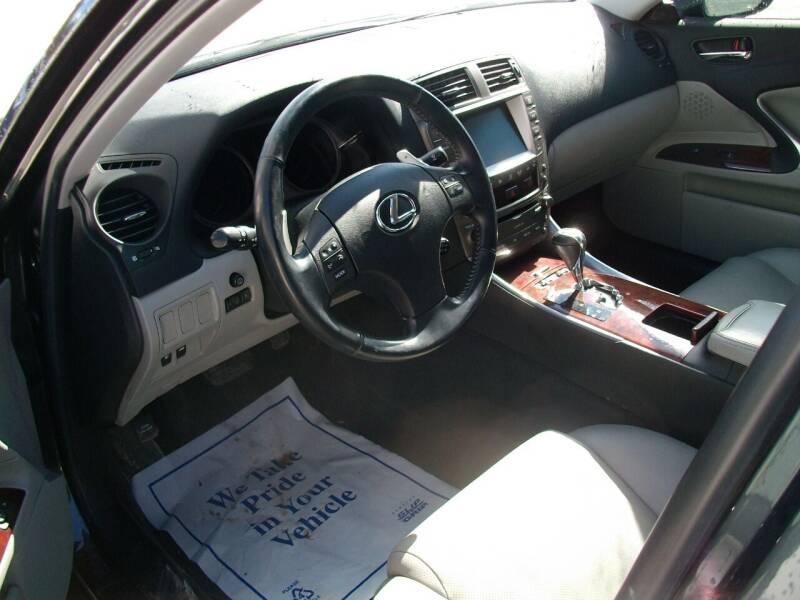 2007 Lexus IS 250 4dr Sedan (2.5L V6 6A) - Castleton VT