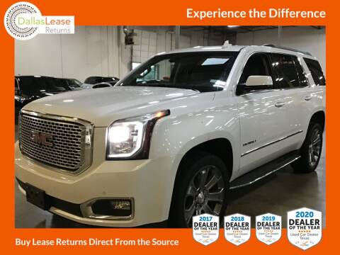 2017 GMC Yukon for sale at Dallas Auto Finance in Dallas TX