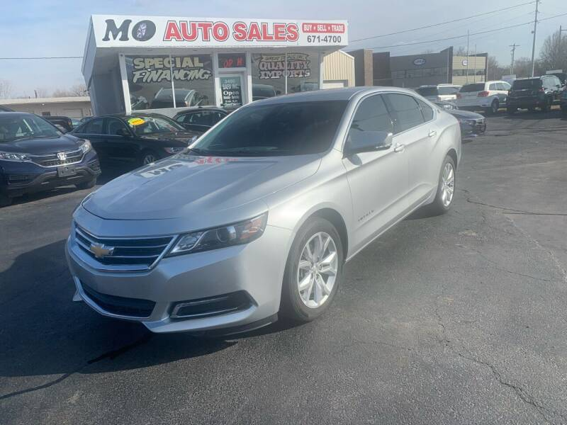 2018 Chevrolet Impala for sale at Mo Auto Sales in Fairfield OH