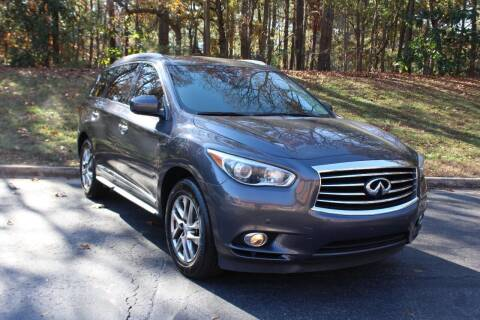 2013 Infiniti JX35 for sale at El Patron Trucks in Norcross GA