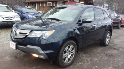 2009 Acura MDX for sale at Select Cars Of Thornburg in Fredericksburg VA