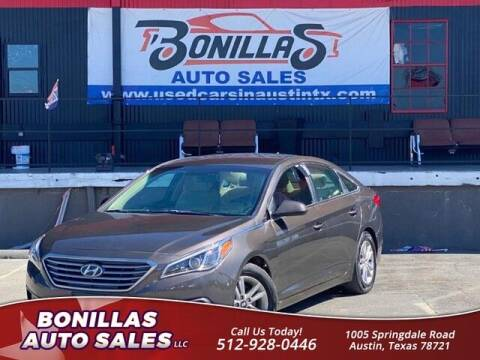 2017 Hyundai Sonata for sale at Bonillas Auto Sales in Austin TX