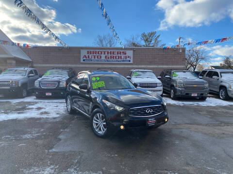 2009 Infiniti FX35 for sale at Brothers Auto Group in Youngstown OH